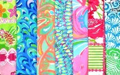 Lilly Pulitzer martingale collars