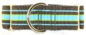 Stripes martingale collars