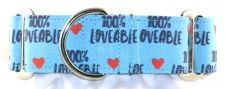 100% Loveable dog collar