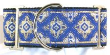 Amravati Blue dog collar