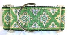 Amravati Green dog collar