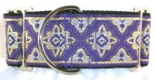 Amravati Purple dog collar