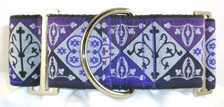 Noble Purple dog collar