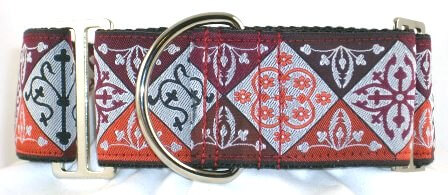 Noble Red dog collar