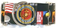 US Marines dog collar