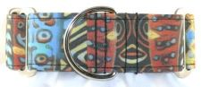 African Sunrise dog collar