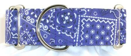 Bandana Purple dog collar
