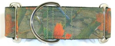 Camo Woods dog collar