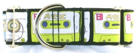 Cassettes dog collar