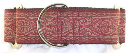 Celtic Wine Dog Collar Unique Martingale Collars Trendy