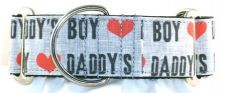Daddys Boy dog collar