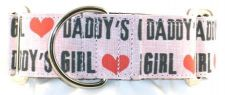 Daddys Girl dog collar