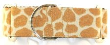 Giraffe martingale collar