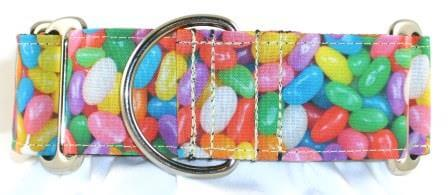 Jelly Beans Delight dog collar