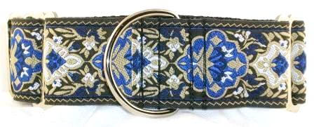 Persian martingale dog collar