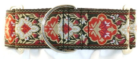 Persian Crests Red dog collar