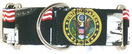 US Army dog collar
