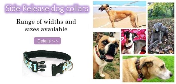 martingale side release collars